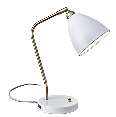 Adesso 3463-02 Chelsea Desk Lamp, Smart Outlet Compatible, 16