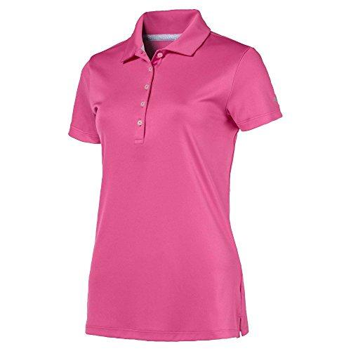 Mens Coolmax Show Shirt (PUMA Golf Women's 2018 Pounce Polo, Large, Carmine Rose)