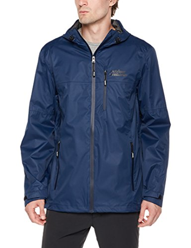 Men Venture Jacket - Outdoor Ventures Men Lake Packable Breathable Rain Jacket