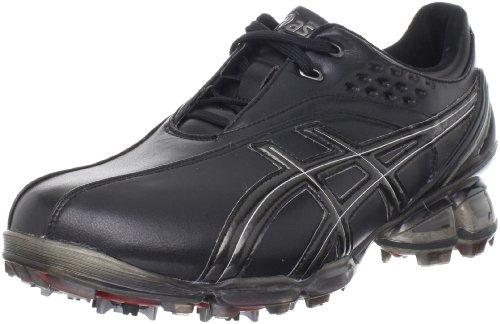 (ASICS Men's GEL-Ace Pro Golf Shoe,Black/Silver,8 M US)