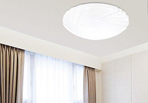 Olqmy rotondo led coperte lampade camera da letto sala da