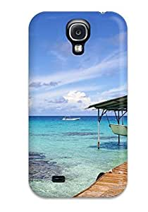 For Galaxy S4 Premium Tpu Case Cover Choose Colorful Beach Protective Case