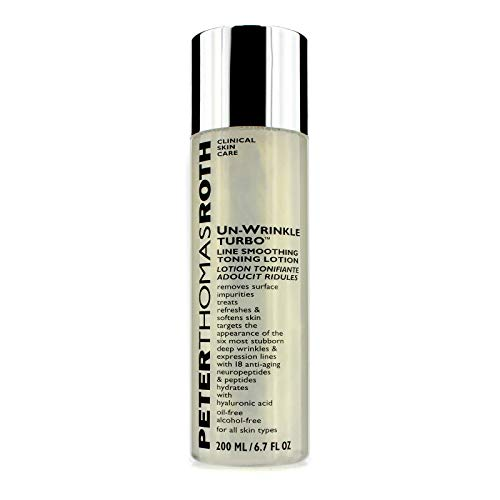 - Peter Thomas Roth Un-Wrinkle Turbo Line Smoothing Toning Lotion 6.7 oz