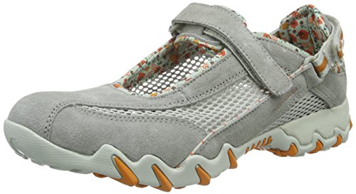 Baskets 12 mode Cool Grau Mephisto C Mesh Open Grey 05 Niro Cloudburst by Grey femme suede Allrounder axSBwqw