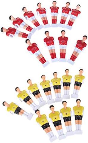 P Prettyia 22 Unidades de Muñequitos para Reemplazar Football Men ...
