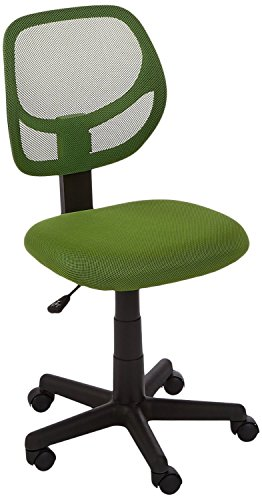 AmazonBasics Low Back Computer Chair Green