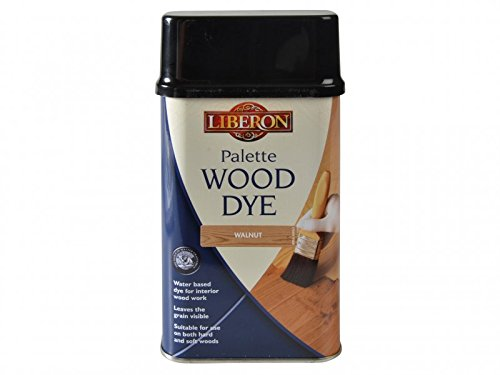 Liberon Water-Based Palette Wood Dye Walnut 500ml