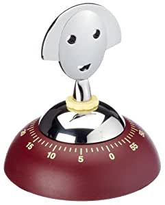 Alessi AM09R Anna Kitchen Timer Red