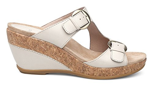 Wedge Heel Ivory Sandals Women's Full Dansko High Carla Grain 1qwnwxTOfz