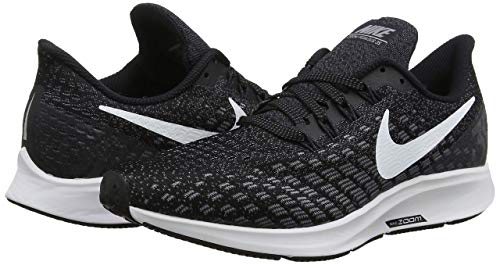 Nike Men's Air Zoom Pegasus 35 Running Shoe (6 M US, Black/White/Gunsmoke/Oil Grey) by Nike (Image #7)