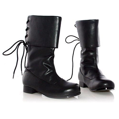 Pu Pirate Boot (Ellie Shoes E-101-Sparrow, Childrens 1