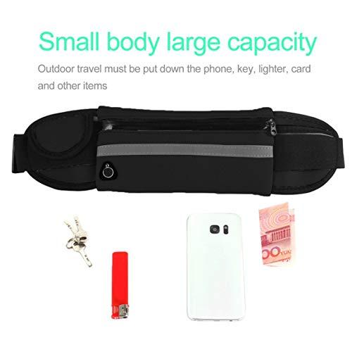 air tissu de femmes taille de plongée sac taille plein poche course Multifonctionnel sac casual de camping voyage hommes portable en qvwtExF