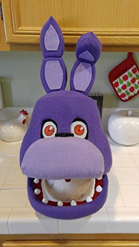 Bonnie, Five Nights at Freddy's Halloween/Cosplay Mask. Movable jaw!! FNAF!!