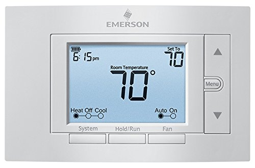 White-Rodgers 80 Series Programmable Thermostat (GE: 2H/2C, HP: 2H/1C) #1F85U-22PR