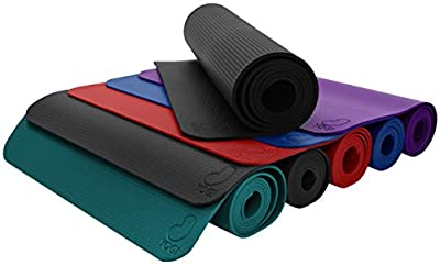 Bean Products Pro Eco GURU or YOGI Premium Yoga Mat, Pilates Jump Mat Hi Grip - Natural Rubber and Polymer Blend Earth Friendly Non Toxic Non Skid. TM