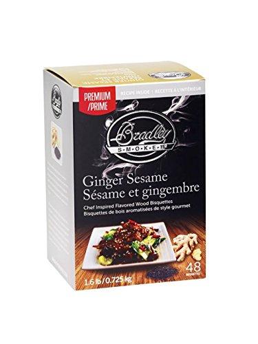 Bradley Smoker Ginger & Sesame Bisquettes (48 Pack)