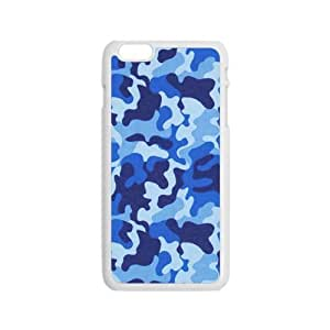 Blue Disruptive pattern Phone Case for Iphone 6