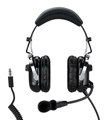 Faro G2 Active Noise Reduction (ANR) Helicopter Pilot Headset - U174 - MP3 ()