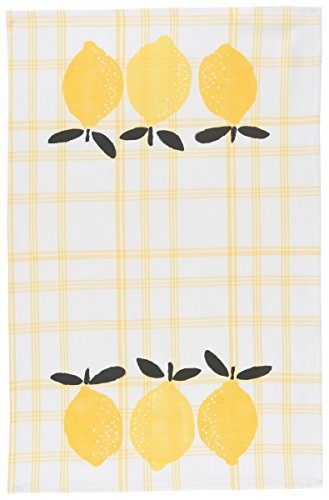 Now Designs Teatowel Lemon Print