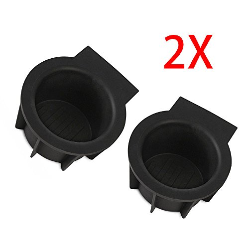 hsn_zem 2 pcs Front Console Cup Holder Inserts fits F-150 Expedition Navigator New by hsn_zem