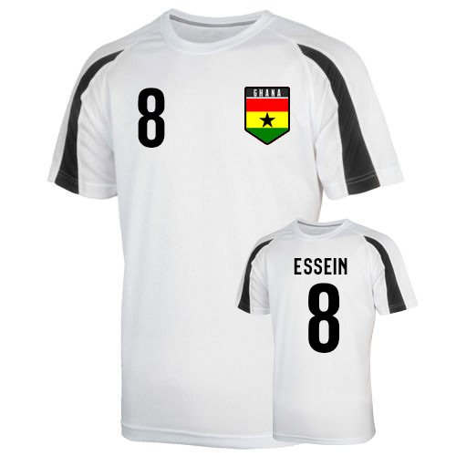 疑い原稿言語Ghana Sports Training Jersey (essien 8)