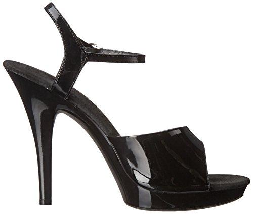 Ellie Shoes Womens M Juliet Platform Sandal Black i314vrYmwJ
