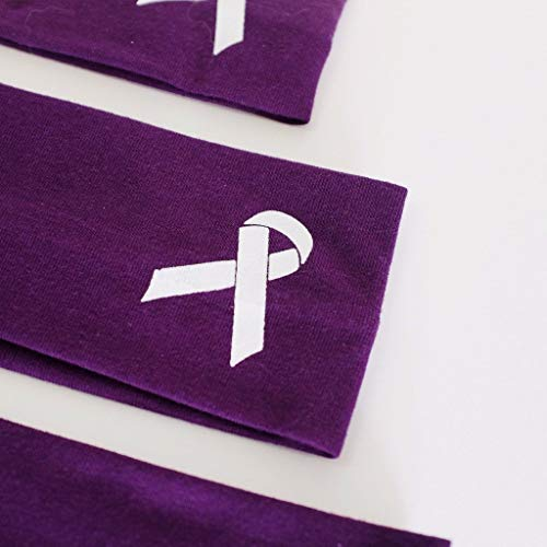 Alzheimer's Awareness Purple Headband