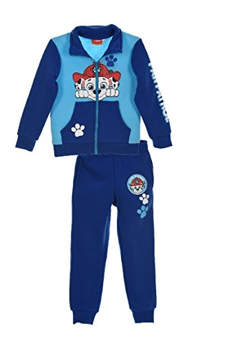 Paw Patrol Official Nickelodeon Boys Tracksuit Outfit Set Long Sleeve Marshall Chase 2-6 Years - New 2017/18
