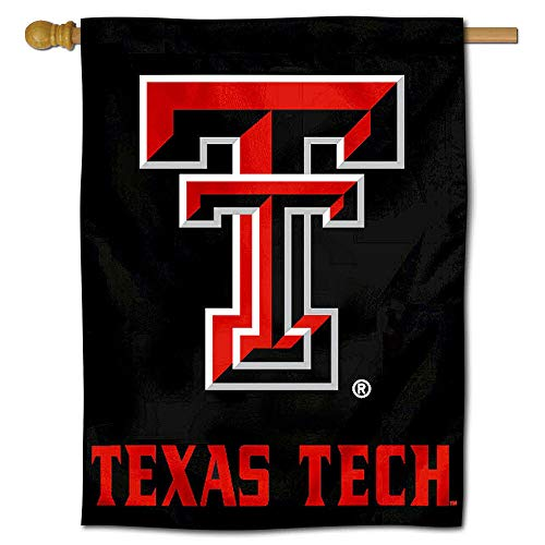 College Flags and Banners Co. Texas Tech University Red Raiders House Flag ()