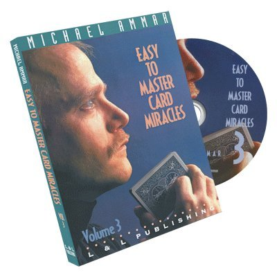 Price comparison product image Easy to Master Card Miracles Volume 3 by Michael Ammar - DVD
