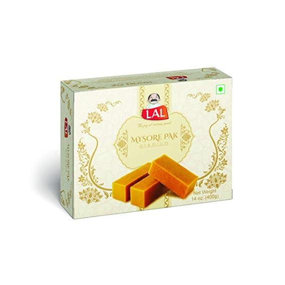 LAL Mysore Pak (400g) (Pack of 1)