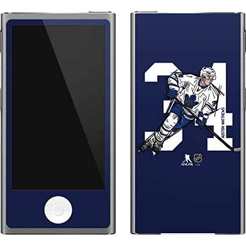 (Skinit NHL Toronto Maple Leafs iPod Nano (7th Gen&2012) Skin - Auston Matthews #34 Action Sketch Design - Ultra Thin, Lightweight Vinyl Decal Protection)