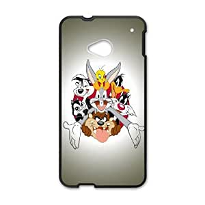 Looney Tunes Characters HTC One M7 Cell Phone Case Black phone component AU_572442