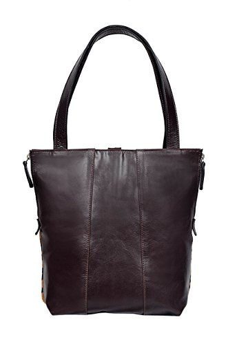 Smart Range, Borsa a spalla donna marrone Brown