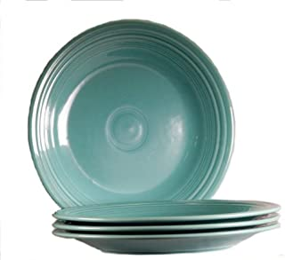 product image for Fiesta 10-1/2-Inch Dinner Plate, Turquoise, Set of 4