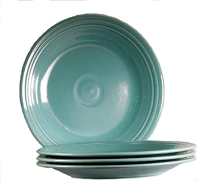 Fiesta 10-1/2-Inch Dinner Plate Turquoise Set of 4  sc 1 st  Amazon.com & Amazon.com | Fiesta 10-1/2-Inch Dinner Plate Turquoise Set of 4 ...
