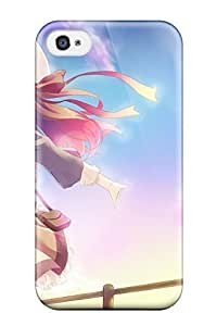 Premium Brunettes Thigh Highs Open Mouth Hats Skies Original Characters Heavy-duty Protection Case For Iphone 5s