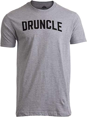 2c2f78f4 DRUNCLE | Funny Uncle Beer Drinker Drinking Joke Family Humor Funcle Men T- Shirt-