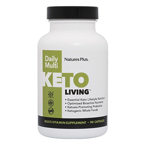 Nature's Plus - KetoLiving Daily Multi-Vitamin Supplement, 90 Capsules (Nature Express Weekly)