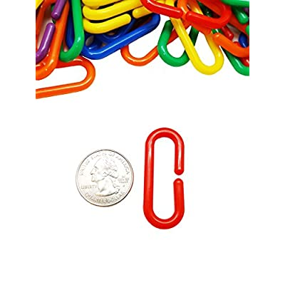 Skoolzy Linking Math Manipulatives Learning Toys - 120 Rainbow Math Links Counters with Tote & Preschool Learning Activities eBook - Kids Counting Toys Kindergarten Fine Motor Skills with Tote: Toys & Games