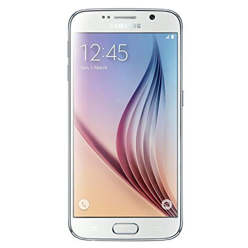 Samsung Galaxy S6 G920a 32GB Unlocked GSM 4G LTE Octa-Core Smartphone w/ 16MP Camera - White Pearl