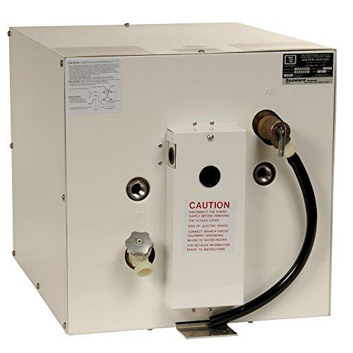 Whale Seaward 11 Gal Hot Water Heater W/Rear Heat Exchanger (Part #S1100W By Whale Marine) by Whale