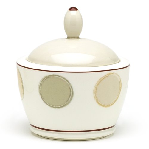Noritake Mocha Java Sugar Bowl with Cover, 9-ounces