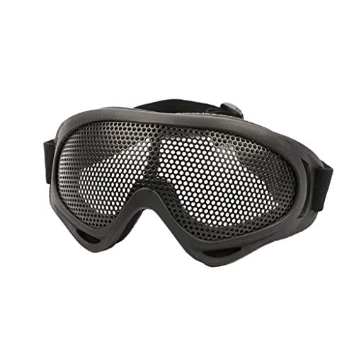 Orcbee  _Outdoor Eye Protection Comfort Air Gun Safety Tactical Glasses Goggles Anti-Fog and Metal Net