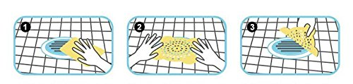 environmental protection and environmental protection green disposable floor drain filter Non-woven cloth drain cover protective cover Shower room bathroom sink floor drain filter Non-woven floor drain 50 pieces