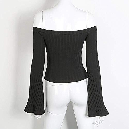 chic Sweatshirt Damen Frauen Elegante Lange Ärmel Sweatshirt
