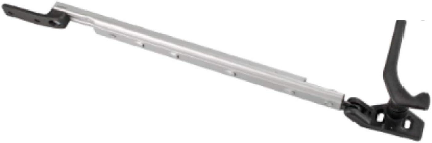 3 St/ück SECOTEC Fenster-Vorreiber 40 mm| Fensterriegel Raffhalter Fensterladenhalter