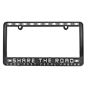 Share The Road Cyclist Advocacy License Plate Frame