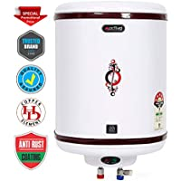 ACTIVA 25 LTR Storage 5 Star 2 KVA Geyser with Anti Rust Coated Metal Body,HD ISI Element Hotline (Ivory)