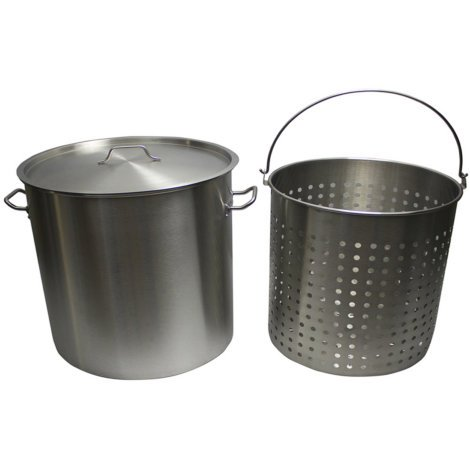 50 qt steamer basket - 8